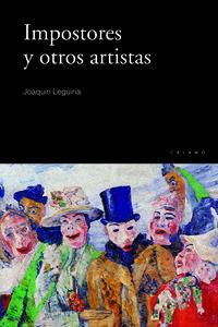 Impostores y otros artistas: portada