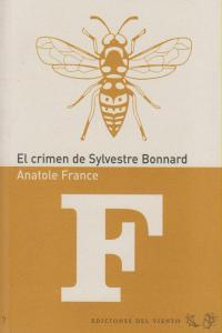 CRIMEN DE SYLVESTRE BONNARD: portada