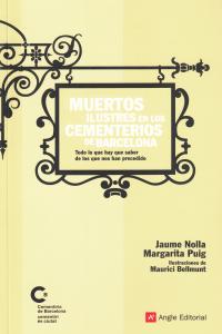 MUERTOS ILUSTRES EN CEMENTERIOS DE BARCELONA: portada