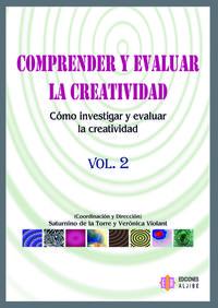 COMPRENDER Y EVALUAR LA CREATIVIDAD 2: portada