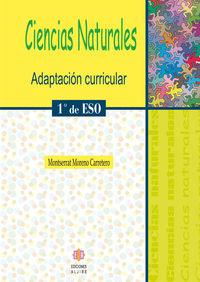 CIENCIAS NATURALES 1º ESO: portada