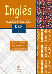 INGLES 1º ESO: portada