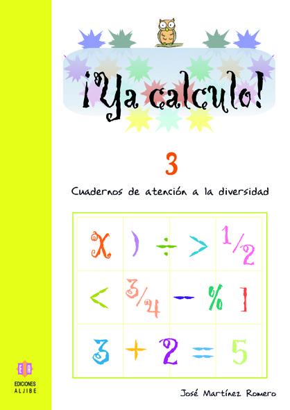 YA CALCULO 3: portada