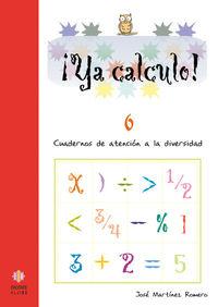 YA CALCULO 6: portada