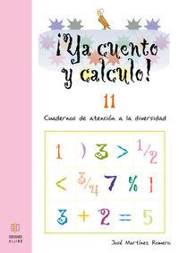 YA CUENTO Y CALCULO 11: portada