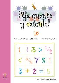 YA CUENTO Y CALCULO 16: portada