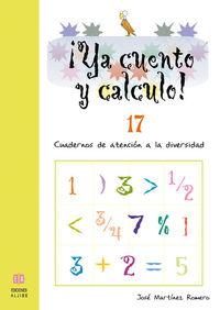 YA CUENTO Y CALCULO 17: portada