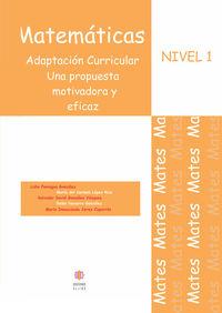 MATEMATICAS NIVEL 1: portada