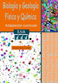 BIOLOGIA GEOLOGIA FISICA QUIMICA 3º ESO: portada