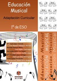 EDUCACIÓN MUSICAL 1º ESO: portada