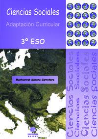 CIENCIAS SOCIALES 3º ESO: portada