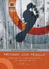 HISTORIAS CON HUELLA: portada