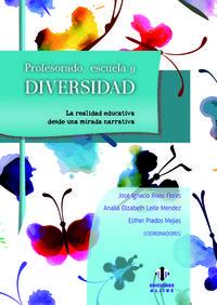 PROFESORADO, ESCUELA Y DIVERSIDAD: portada