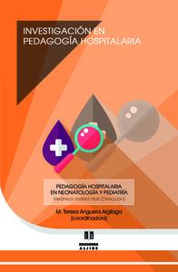 INVESTIGACIÓN EN PEDAGOGÍA HOSPITALARIA: portada