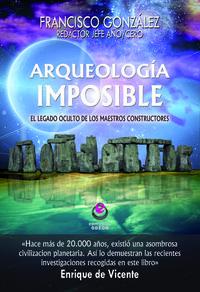 ARQUEOLOGÍA IMPOSIBLE: portada