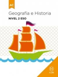 Geografía e Historia  Nivel 2 ESO: portada