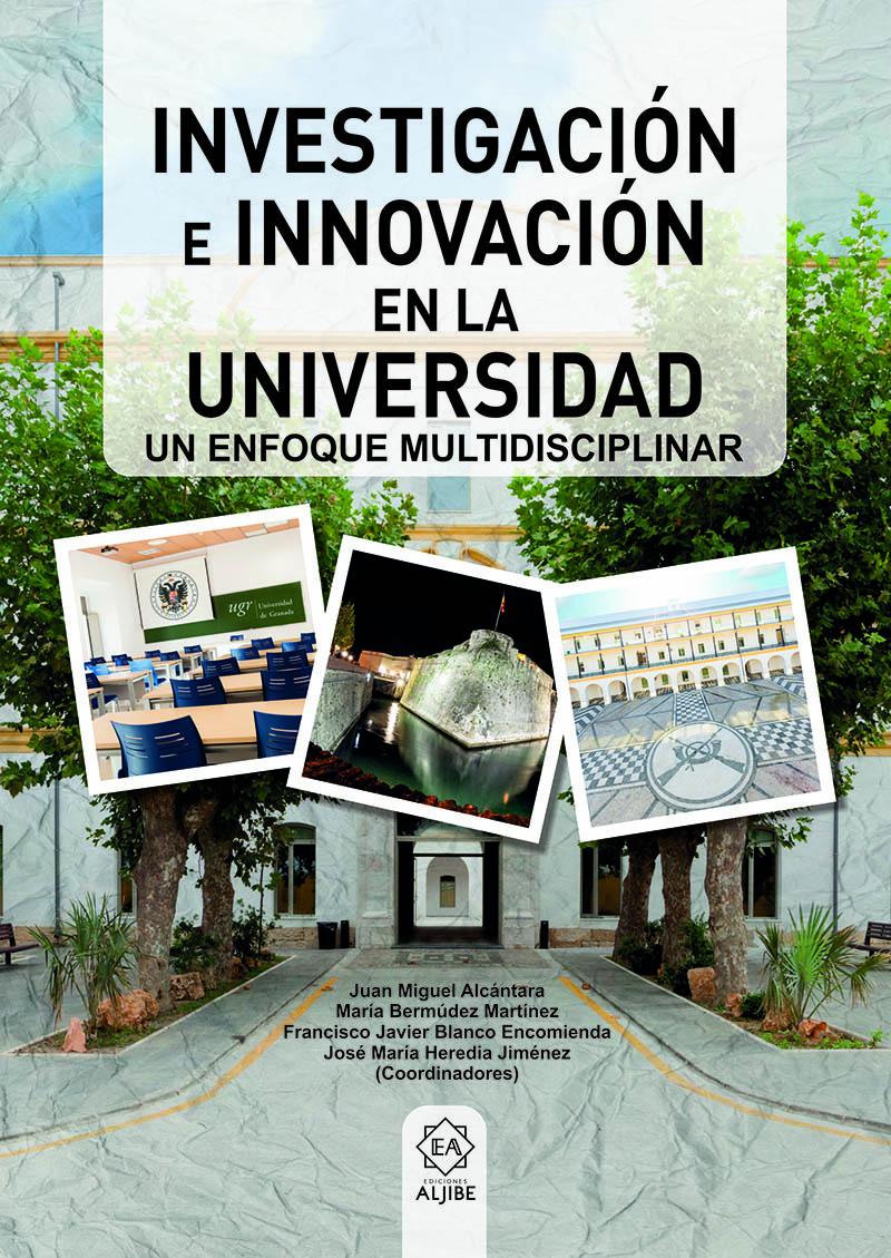 INVESTIGACIÓN E INNOVACIÓN EN LA UNIVERSIDAD: portada