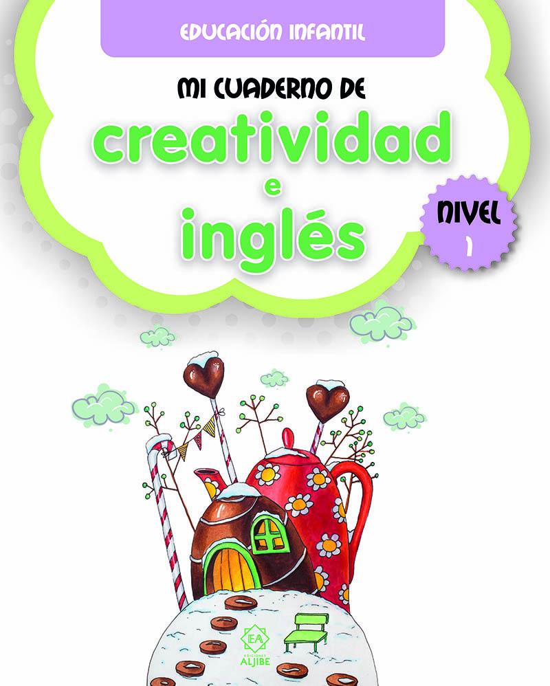 Mi cuaderno de creatividad e inglés 1: portada