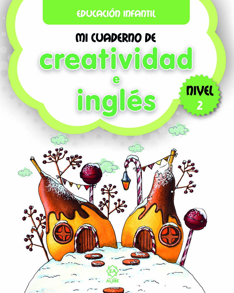 Mi cuaderno de creatividad e inglés 2: portada
