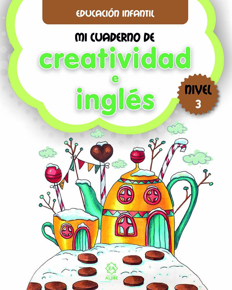 Mi cuaderno de creatividad e inglés 3: portada