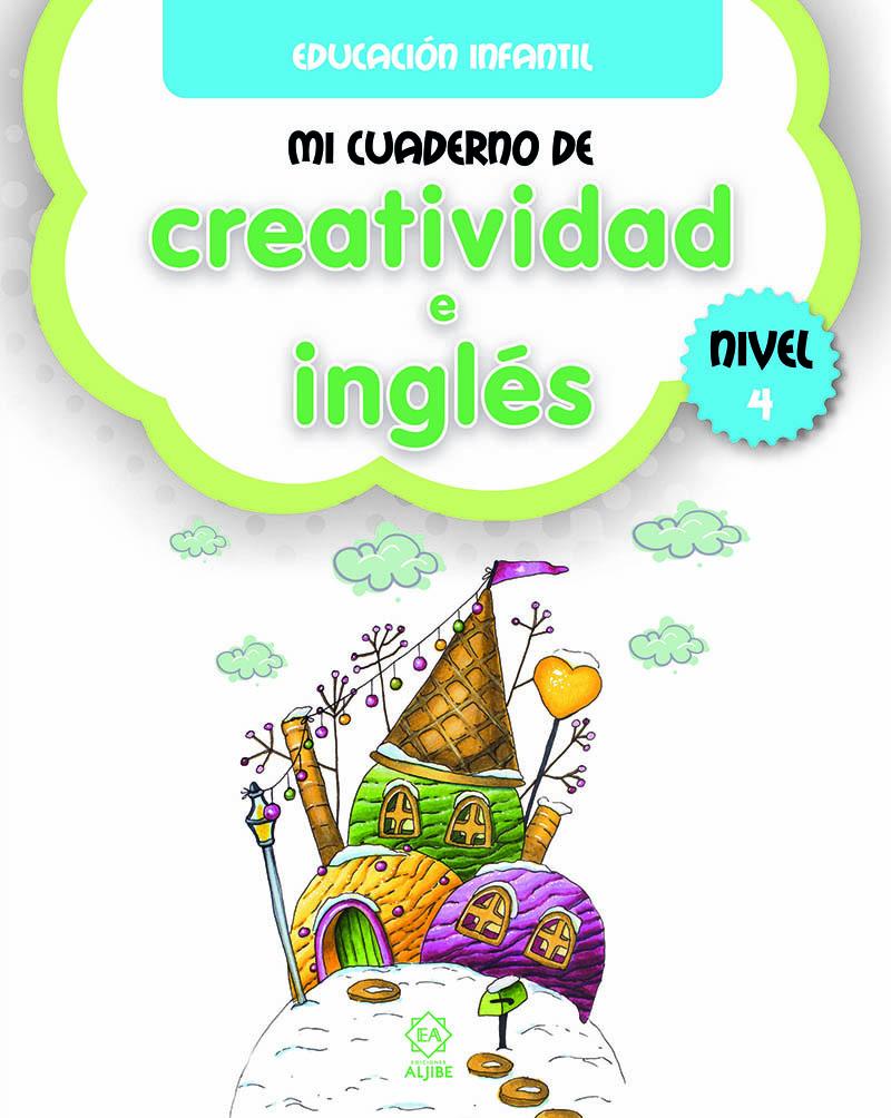 Mi cuaderno de creatividad e inglés 4: portada
