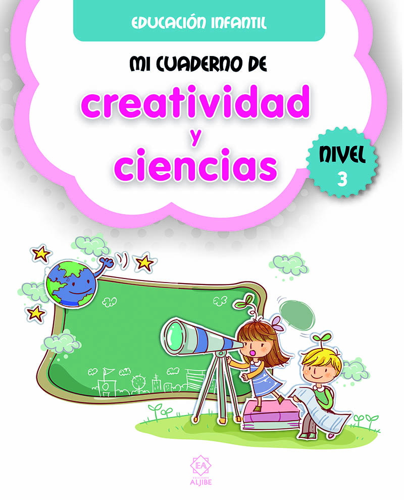 Mi cuaderno de creatividad y ciencias 3: portada