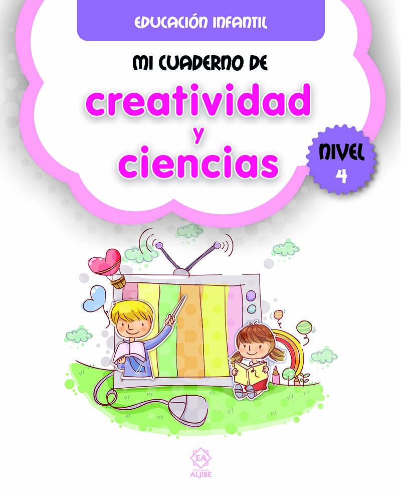 Mi cuaderno de creatividad y ciencias 4: portada