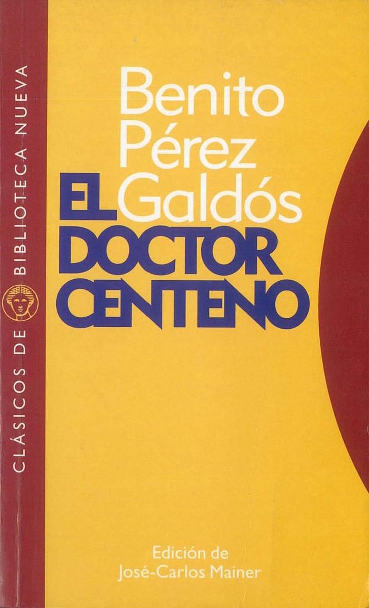 EL DOCTOR CENTENO: portada