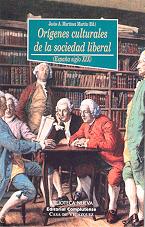 ORÍGENES CULTURALES DE LA SOCIEDAD LIBERAL: portada