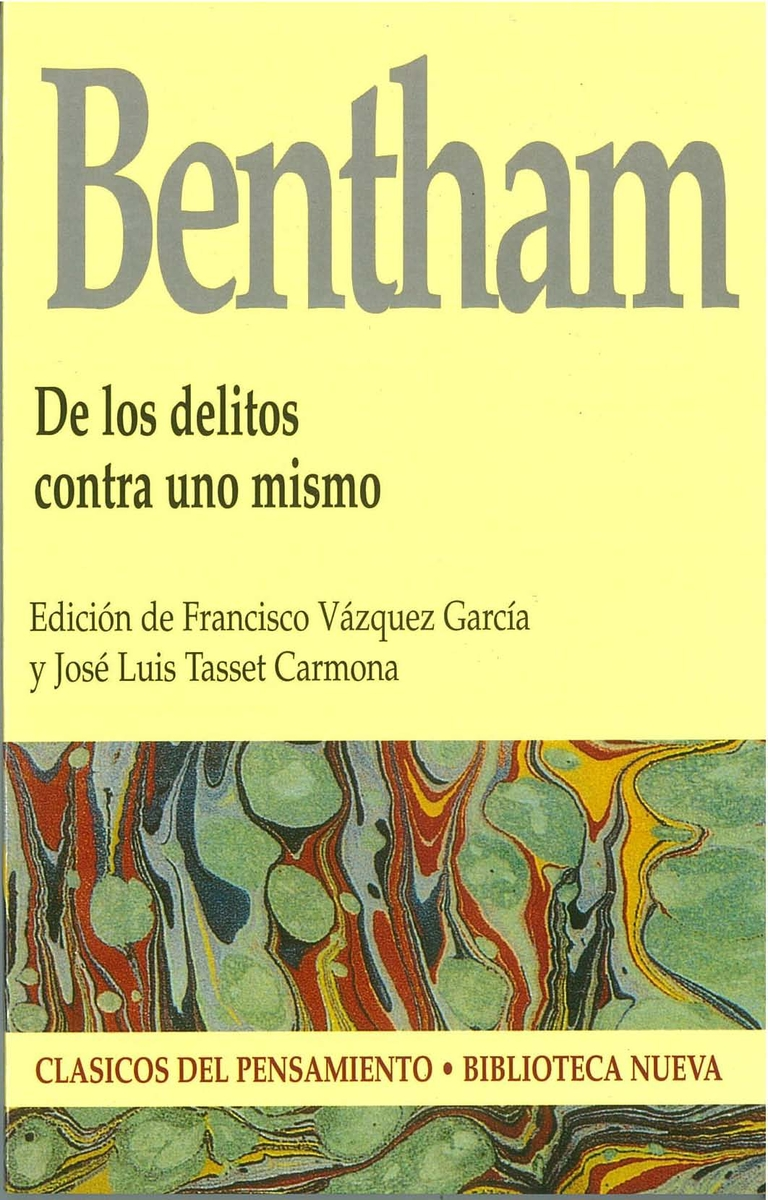 DE LOS DELITOS CONTRA UNO MISMO: portada