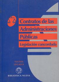 CONTRATOS DE LAS ADMINISTRACIONES PUBLICAS: portada