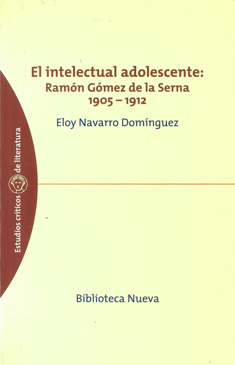INTELECTUAL ADOLESCENTE, EL: portada
