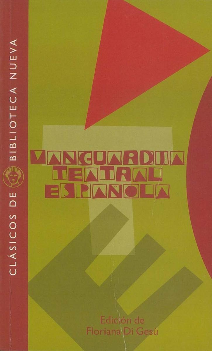 VANGUARDIA TEATRAL ESPAñOLA: portada
