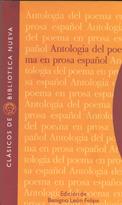 ANTOLOGíA DEL POEMA EN PROSA ESPAñOL: portada