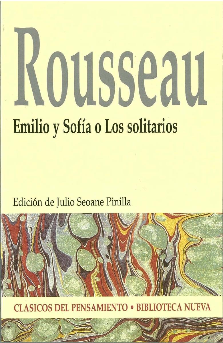 EMILIO Y SOFÍA O LOS SOLITARIOS: portada
