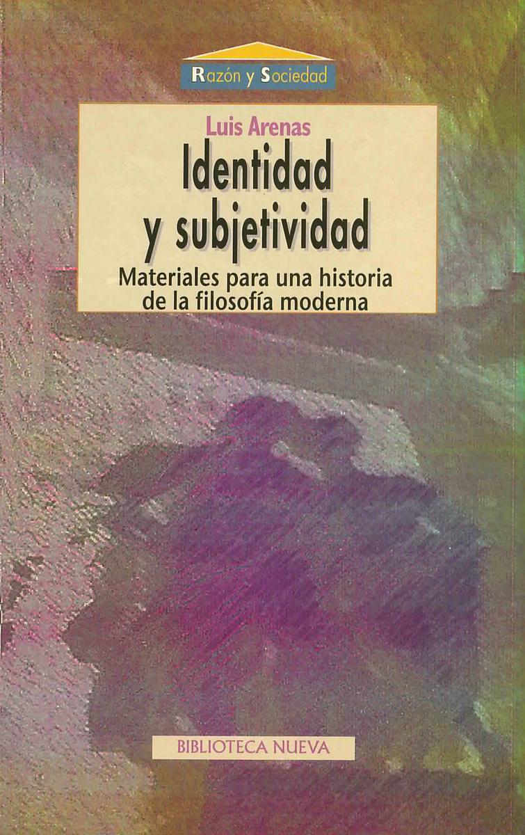 IDENTIDAD Y SUBJETIVIDAD: portada