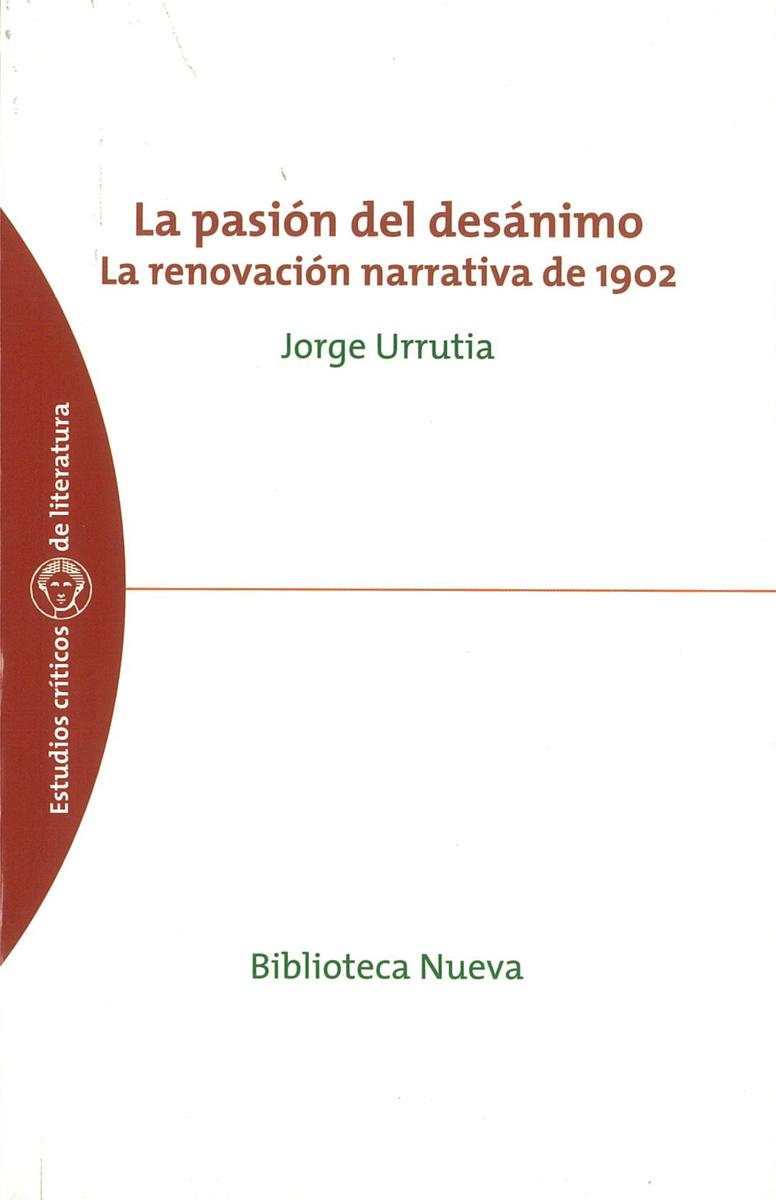 PASIÓN DEL DESÁNIMO, LA: portada