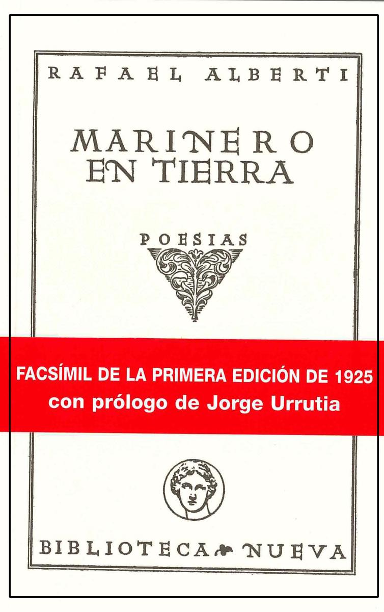 MARINERO EN TIERRA (FACSíMIL): portada