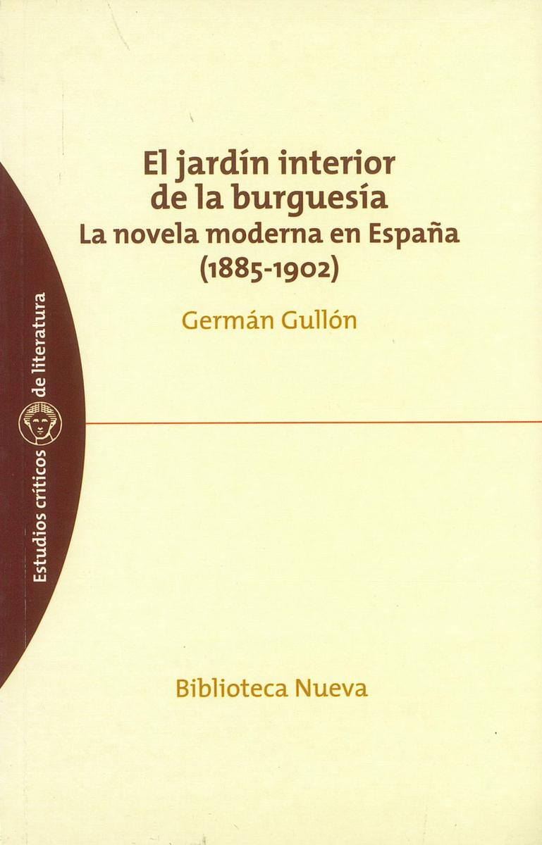 JARDÍN INTERIOR DE LA BURGUESÍA, EL: portada