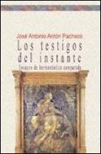 LOS TESTIGOS DEL INSTANTE: portada