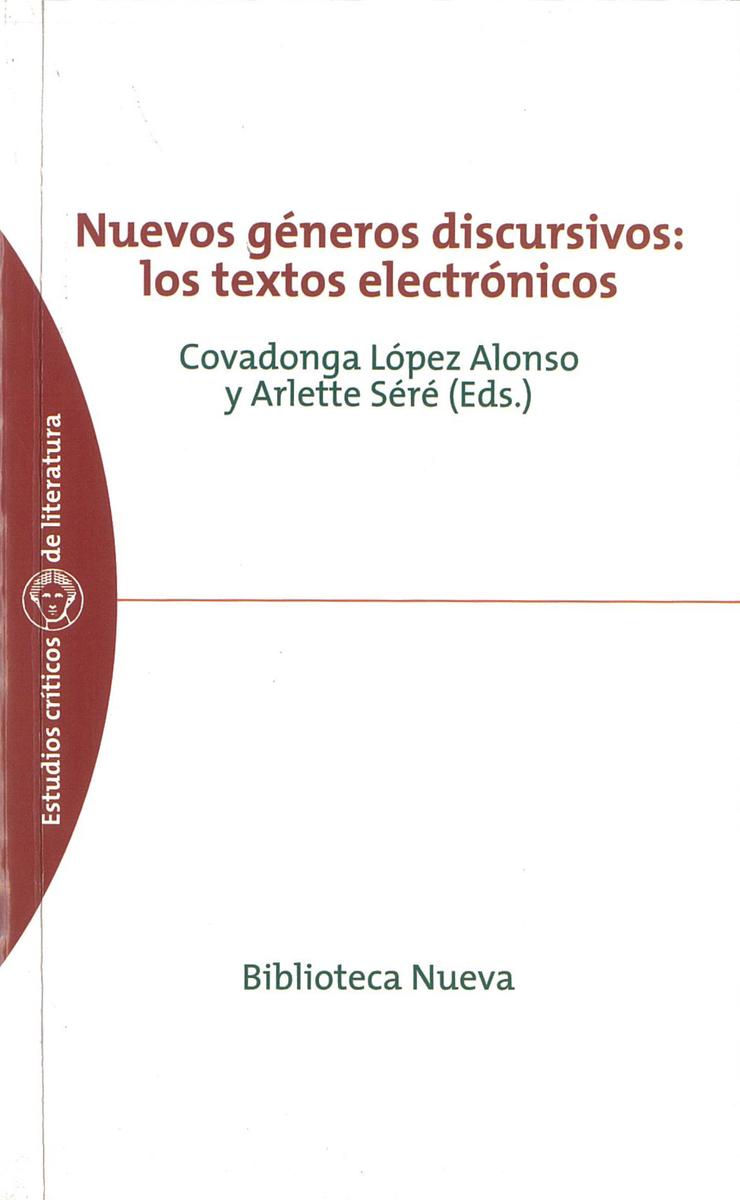 NUEVOS GÉNEROS DISCURSIVOS: LOS TEXTOS ELECTRÓNICOS: portada