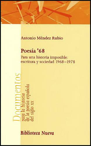 POESIA ' 68: portada