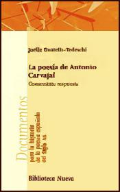 LA POESÍA DE ANTONIO CARVAJAL: portada