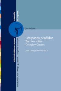 LOS PASOS PERDIDOS: portada