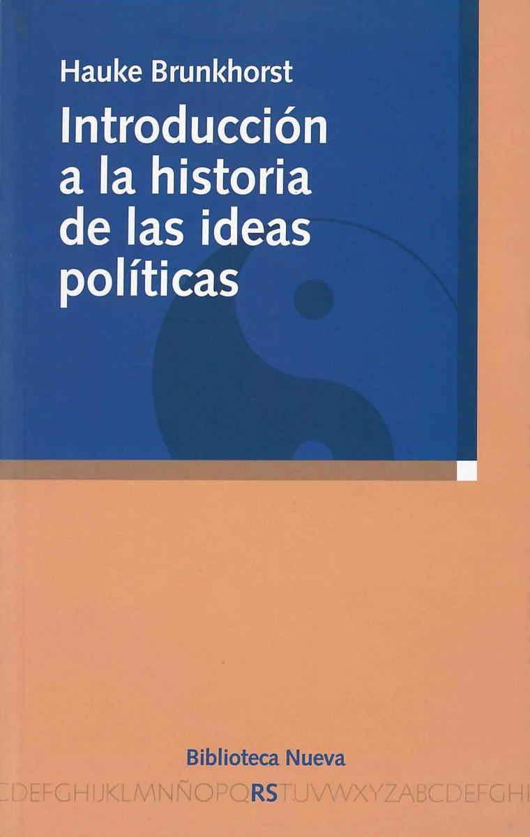 INTRODUCCIÓN A LA HISTORIA DE LAS IDEAS POLÍTICAS: portada