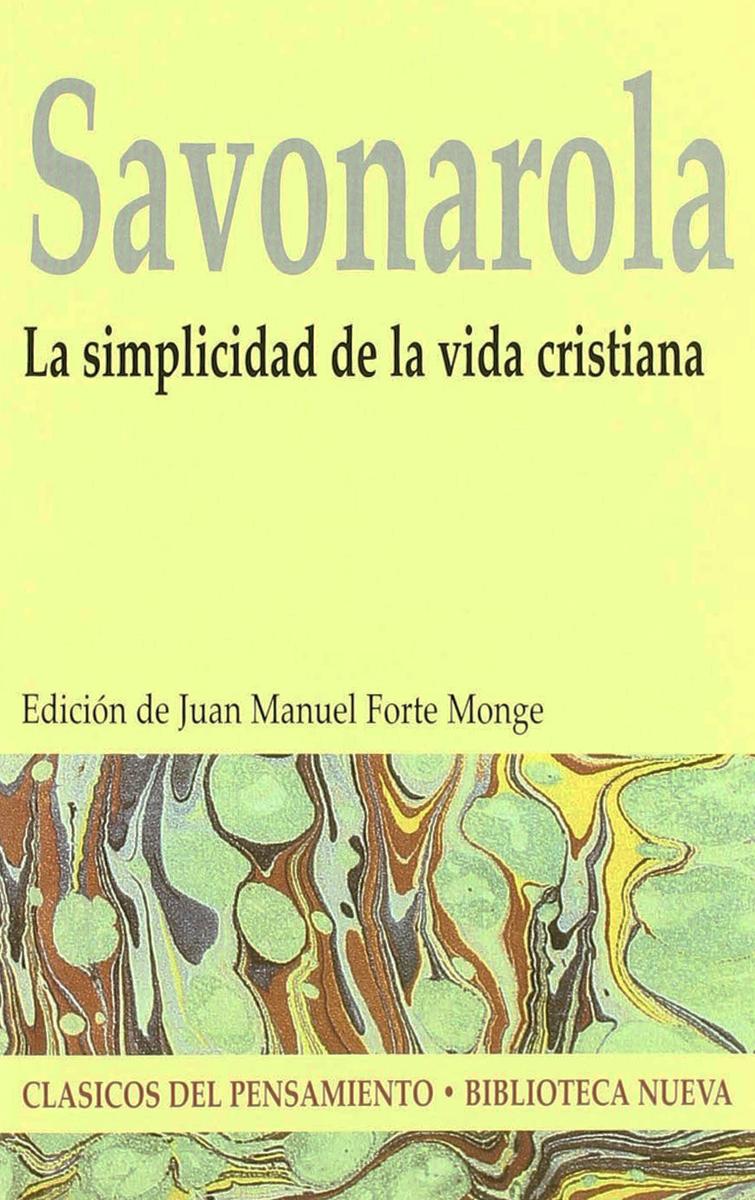 LA SIMPLICIDAD DE LA VIDA CRISTIANA: portada