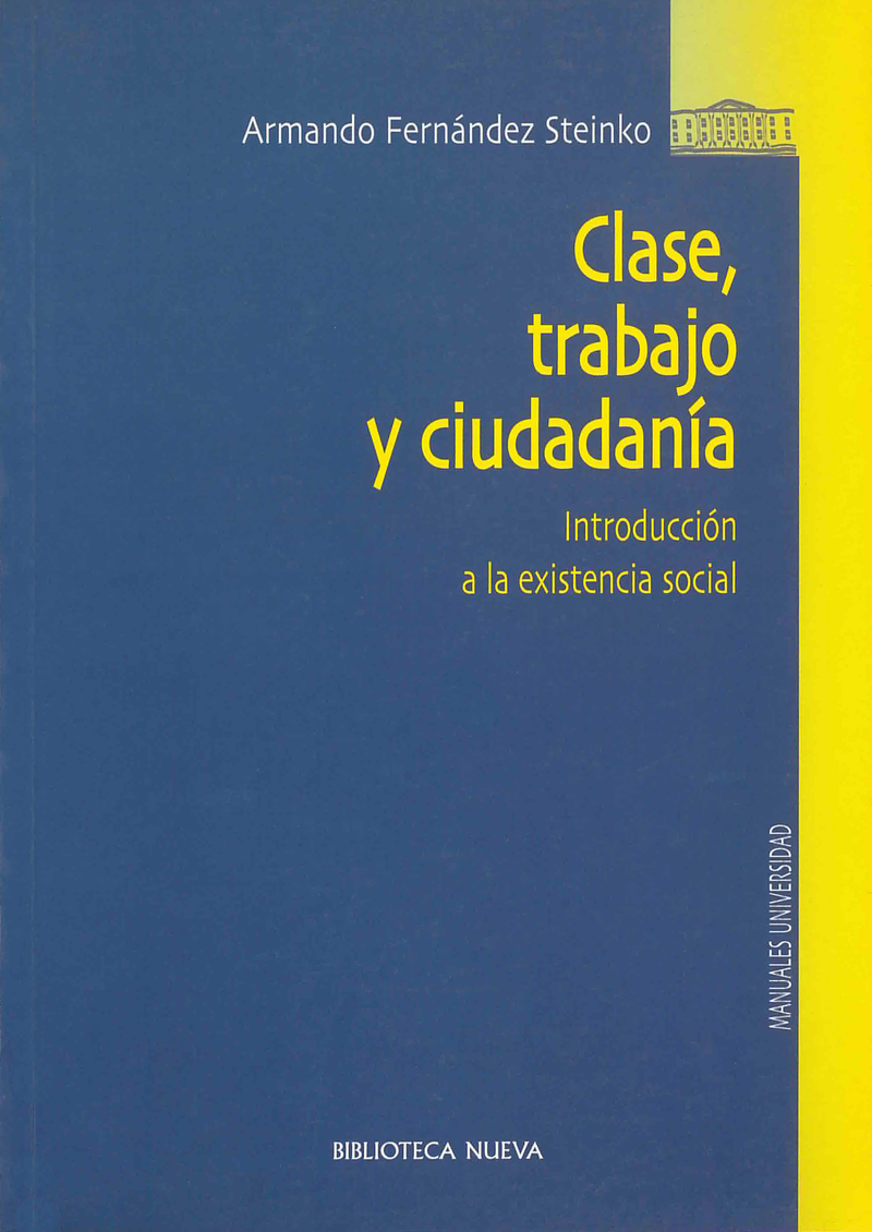 CLASE, TRABAJO Y CIUDADANÍA: portada