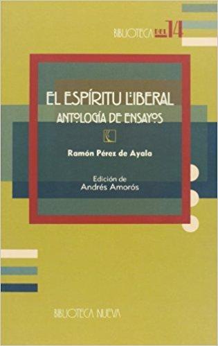 EL ESPÍRITU LIBERAL: portada