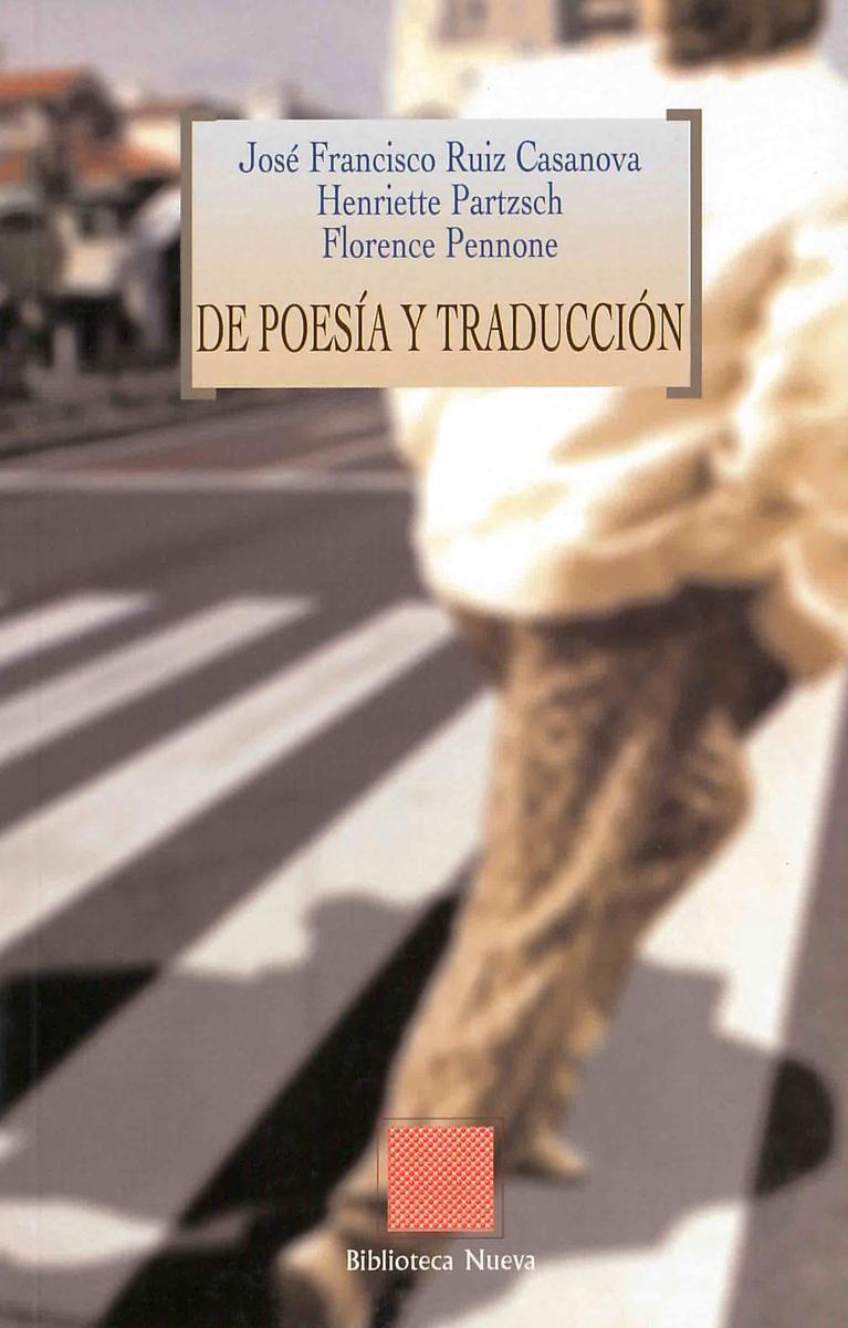 DE POESÍA Y TRADUCCIÓN: portada