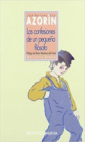 LAS CONFESIONES DE UN PEQUEÑO FILÓSOFO: portada